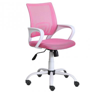 Silla escritorio estudio juvenil giratoria rosa Studio