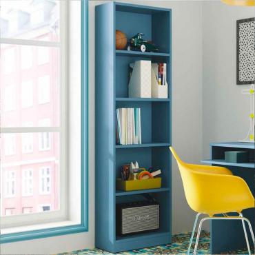 Estanteria juvenil i-joy color azul 5 estantes