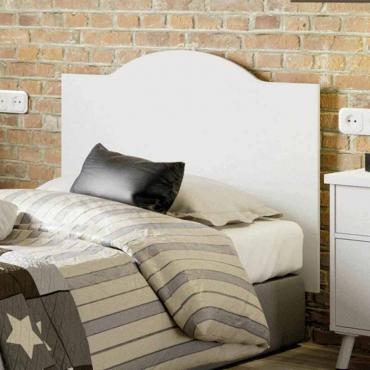 Cabezal dormitorio Vale vintage blanco