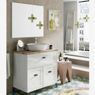 Mueble baño Siena cottage con lavabo