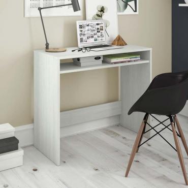 Mesa escritorio juvenil blanco alpes