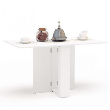 Mesa cocina Swing abatible color blanca